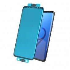 3D Edge Nano Flexi Glass Hybrid Full Screen Protector with frame for Samsung Galaxy S20 Plus black (in-display fingerprint sensor friendly) (SAS20PL)