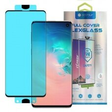 3D Edge Nano Full Screen Protector with frame for Samsung Galaxy S10 transparent (SGS10)