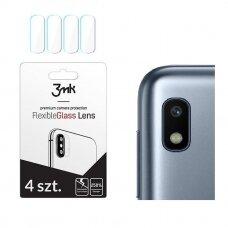 3MK FlexibleGlass Lens Samsung A105 A10 Hybrid glass for camera lens 4 pcs. (egb38) (SGA10)