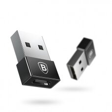 Adapter Baseus Exquisite from USB to Type-C black CATJQ-A01