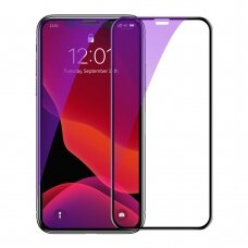 Baseus 0.23mm curved-screen tempered glass screen protector with crack-resistant edges and anti-blue light For iP XS Max 6.5inch Black (SGAPIPH65-ATE01) (lxe17) (IPXSMAX)