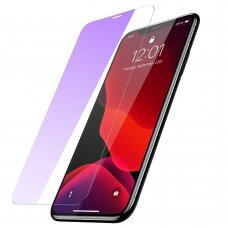 Baseus 0.3mm Full-glass Anti-bluelight Tempered Glass Film For iPhone 11 Pro Max / iPhone XS Max 6.5inch Transparent (SGAPIPH65-LF02)  (IP11PRMX)
