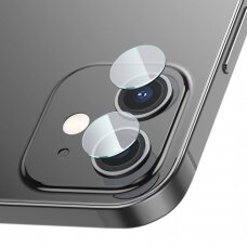 Baseus 2x 0,25 mm reinforced lens tempered glass camera protector for iPhone 12 / iPhone 12 mini transparent (SGAPIPH54N-JT02)