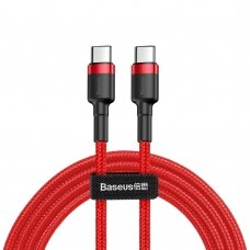 Baseus Cafule Cable Durable Nylon Braided Wire USB-C PD / USB-C PD PD2.0 60W 20V 3A QC3.0 2M red (CATKLF-H09) (HUTL) (hutl)