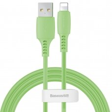 Baseus Colourful Cable USB / Lightning 2.4A 1.2m green (CALDC-06) (HUTL) (hutl)