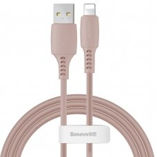 Baseus Colourful Cable USB / Lightning 2.4A 1.2m pink (CALDC-04) (HUTL) (hutl)