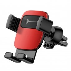 Baseus Cube Gravity Car Mount Air Vent Phone Bracket Holder red (SUYL-FK09) (HUTL) (hutl)