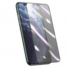 Baseus full screen 3D protector film 0,25 mm with Anti-blue Light filter for iPhone 11 Pro Max / iPhone XS Max black (SGAPIPH65S-HB01) (IP11PRMX)