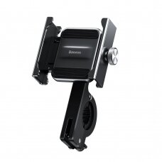 Baseus Knight metal phone holder for bicycle motorbike motorcycle handlebar black (CRJBZ-01) (HUTL) (hutl)