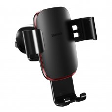 Baseus Metal Age Gravity Car Mount Phone Holder for Air Outlet black (SUYL-D01) (HUTL) (hutl)