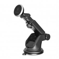Baseus Solid Series Telescopic Magnetic Car Mount Phone Holder silver (SULX-0S) (HUTL) (hutl)