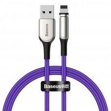 Baseus Zinc magnetic USB cable - Lightning 2A 1m violet (CALXC-H05)