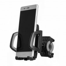 Bicycle Phone Mount Handlebar Holder Bracket with 360 Rotate black (HUTL) (hutl)