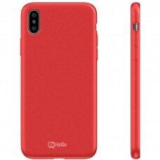 Case BeHello Premium Liquid Silicone Apple iPhone X/XS red