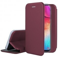 Case Book Elegance Samsung A525 A52/A526 A52 5G bordo