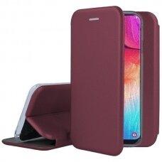Case Book Elegance Samsung S21 bordo