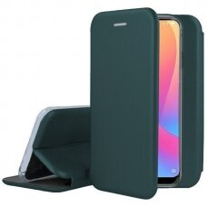 Case Book Elegance Samsung S21 Ultra dark green