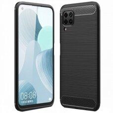 Case Carbon Lux Huawei P40 Lite black