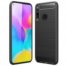 Case Carbon Lux Huawei P40 Lite E/Y7 P black