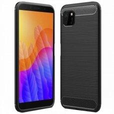 Case Carbon Lux Huawei Y5P black