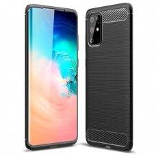Case Carbon Lux Samsung A315 A31 black
