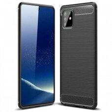 Case Carbon Lux Samsung A715 A71 4G black