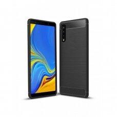 Case Carbon Lux Samsung A750 A7 2018 black