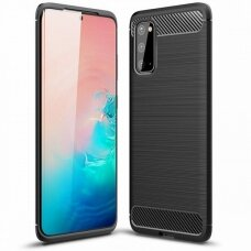 Case Carbon Lux Samsung G981 S20/S11e black