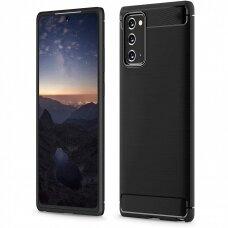 Case Carbon Lux Samsung Note 20 black