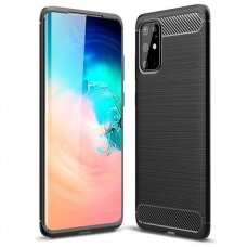 Case Carbon Lux Samsung S21 FE black