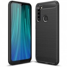 Case Carbon Lux Xiaomi Redmi Note 8 black