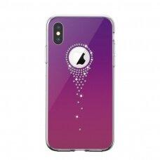 Case Devia Angel Tears Apple iPhone X/XS purple