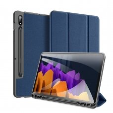 Case Dux Ducis Domo Samsung T730/T736B Tab S7 FE 2021/ T970/T976B TAB S7 Plus dark blue