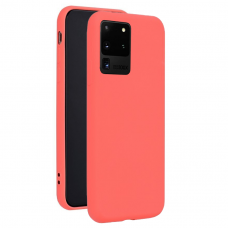 Case Forcell Silicone Lite Samsung G988 S20 Ultra pink