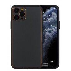 Case Gold Line Apple iPhone X/XS black