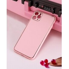 Case Gold Line Apple iPhone X/XS pink