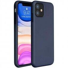 Case Liquid Silicone 1.5mm Apple iPhone 12 mini dark blue