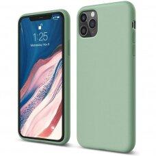 Case Liquid Silicone 1.5mm Apple iPhone 12 Pro Max mint