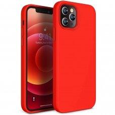 Case Liquid Silicone 1.5mm Apple iPhone 12 Pro Max red