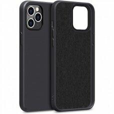 Case Liquid Silicone 1.5mm Apple iPhone 12/12 Pro black