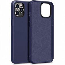 Case Liquid Silicone 1.5mm Apple iPhone 12/12 Pro dark blue