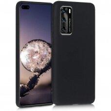 Case Liquid Silicone 1.5mm Huawei P40 black
