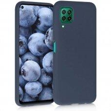 Case Liquid Silicone 1.5mm Huawei P40 Lite dark blue