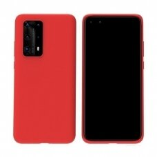 Case Liquid Silicone 1.5mm Huawei P40 red