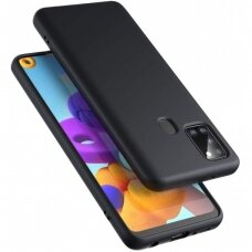 Case Liquid Silicone 1.5mm Samsung A217 A21s black