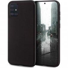 Case Liquid Silicone 1.5mm Samsung A515 A51 black