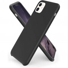Case Liquid Silicone 1.5mm Samsung A715 A71 black