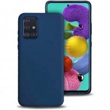 Case Liquid Silicone 1.5mm Samsung A715 A71 dark blue