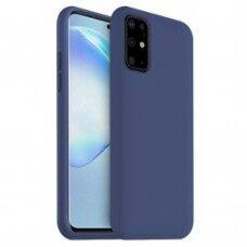 Case Liquid Silicone 1.5mm Samsung G981 S20/S11e dark blue