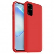 Case Liquid Silicone 1.5mm Samsung G981 S20/S11e red